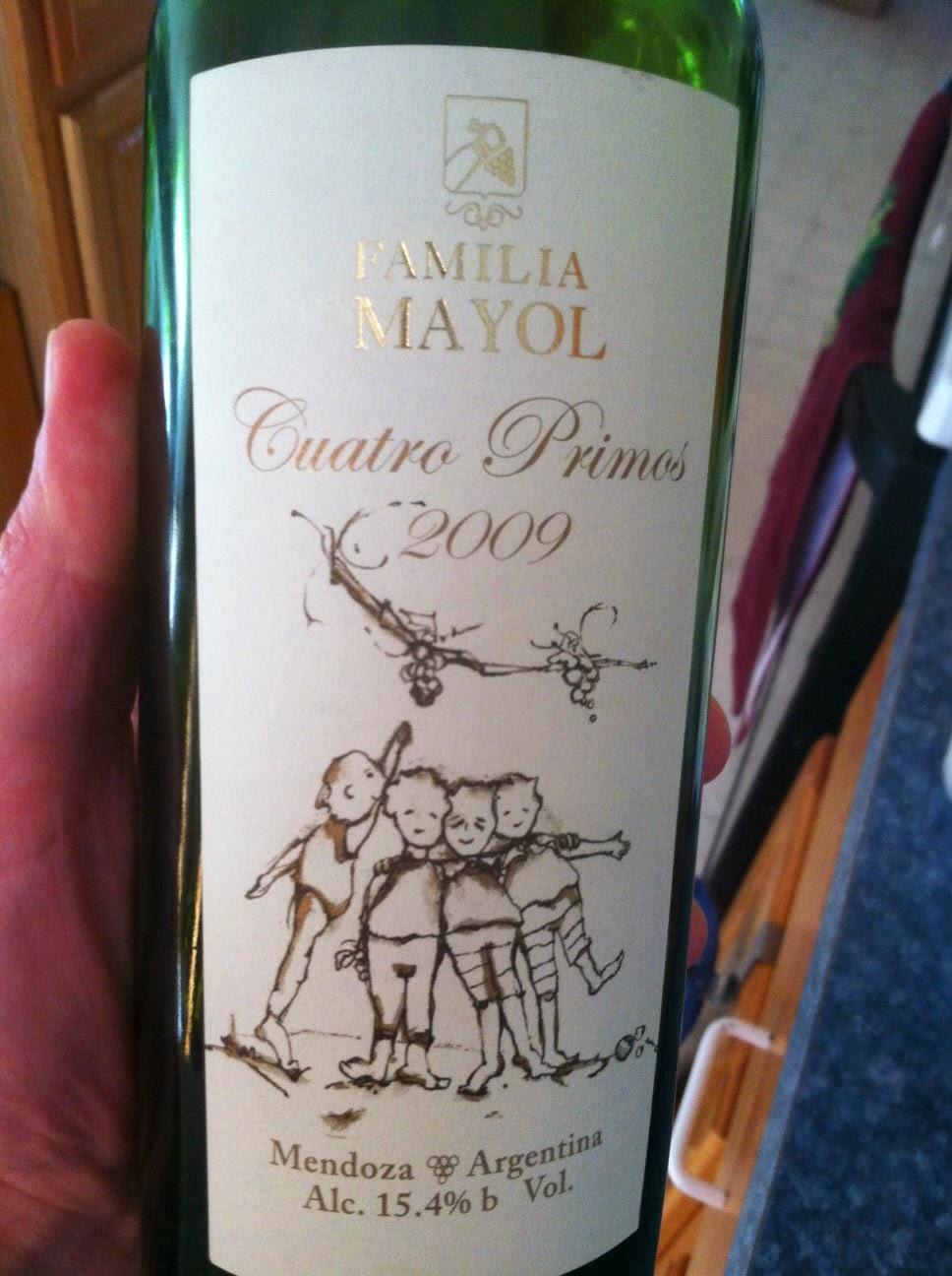 2009 Familia Mayol Malbec Blend