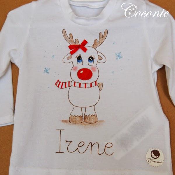 regalo navidad niños camisetas personalizadas