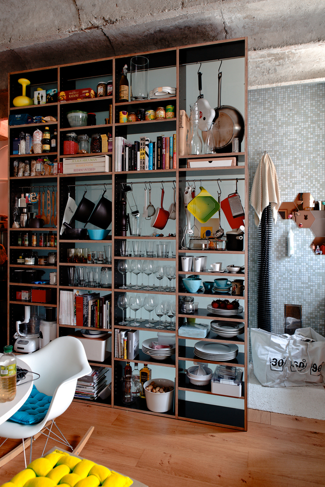 Beautiful abodes the potential of a small space true value dwell - Dwell small spaces image ...