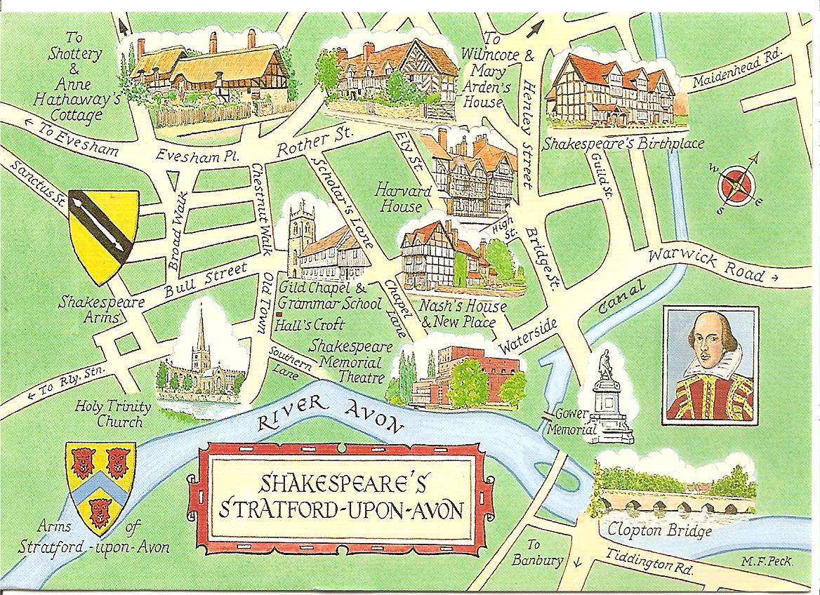 Stratford Upon Avon United Kingdom  city photos gallery : MY POSTCARD PAGE: UNITED KINGDOM ~Shakespeare's Stratford upon Avon~