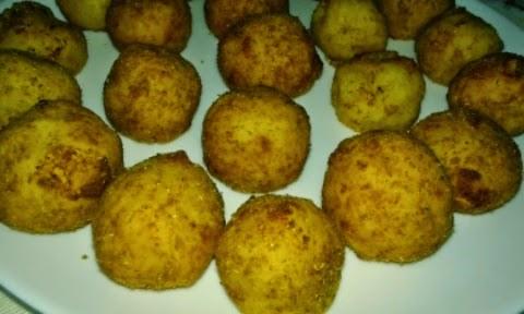 Bolitas caseras de patata
