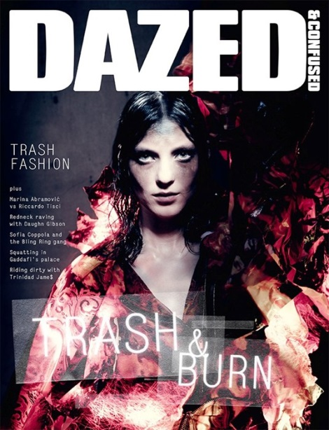 Kati Nescher Dazed & Confused Cover July 2013