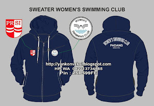 SWEATER WOMEN'S SWIMMING CLUB
