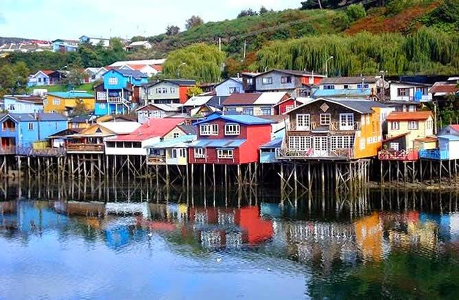 Caroline  dans les îles ChiloË au CHILI