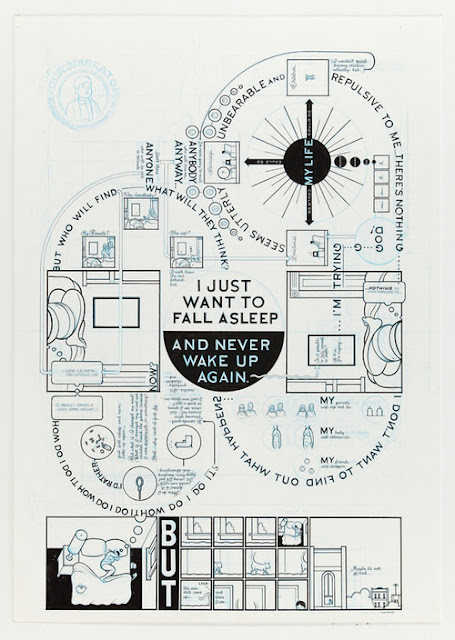 Chris Ware en The Brookyn comics and graphics festival