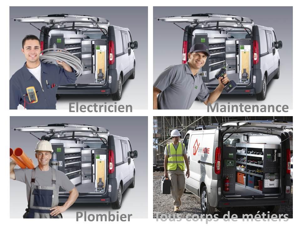 Bott juillet 2013 for Amenagement interieur de vehicule utilitaire