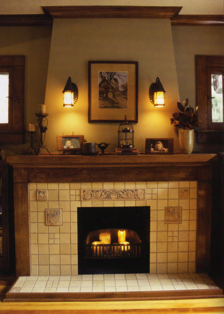 Riches to rags by dori fireplace mantel decorating ideas - Decorating ideas for fireplace walls ...