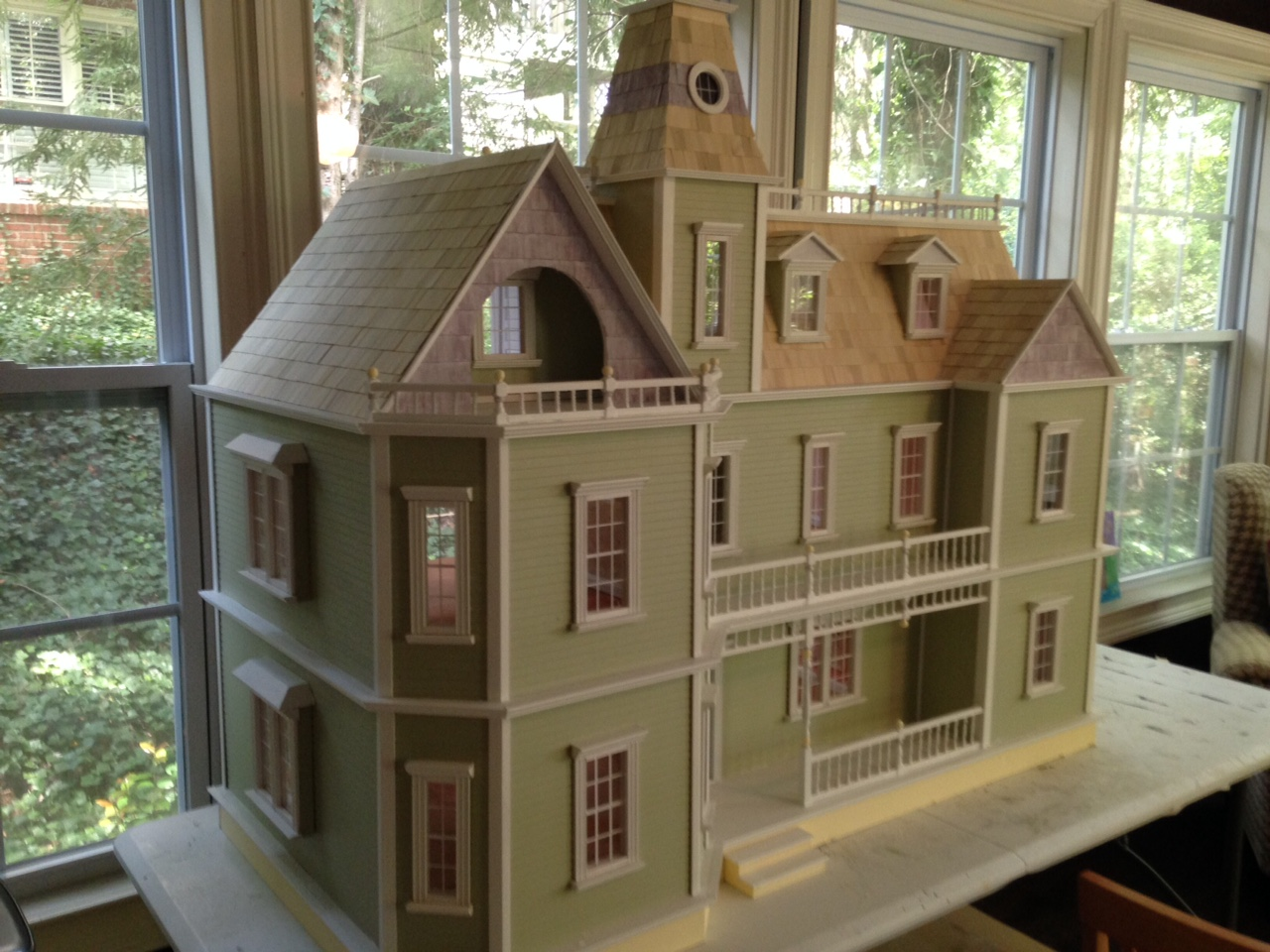 Little Darlings Dollhouses Another Bostonian Dollhouse is finished