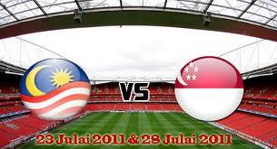 Malaysia Lawan Singapura Di Stadium Bukit Jalil