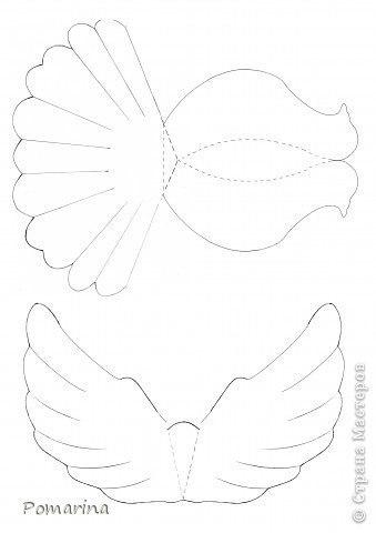 Сделать голубя из бумаги своими руками