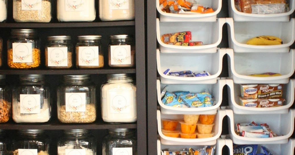 my sweet savannah pantry made with ikea bookshelves. Black Bedroom Furniture Sets. Home Design Ideas