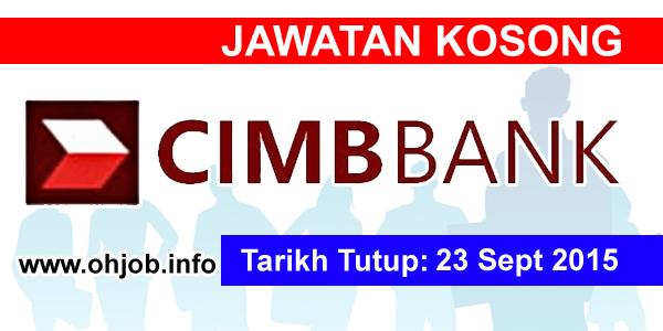 Jawatan Kerja Kosong CIMB Group logo www.ohjob.info september 2015