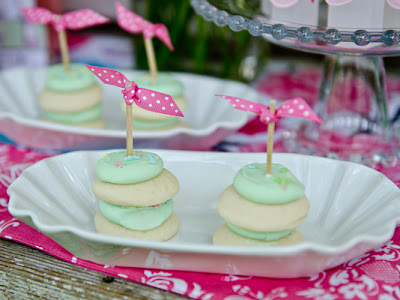 Easy Tea Party Cookies Cakes