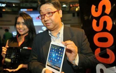 Harga Evercoss AT8, Tablet Cross Android 8 Inci Quad Core Murah