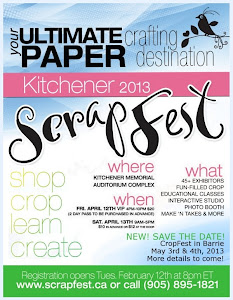 Teaching at Scrapfest April 2013