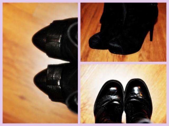 черные сапоги black boots каблуки heels