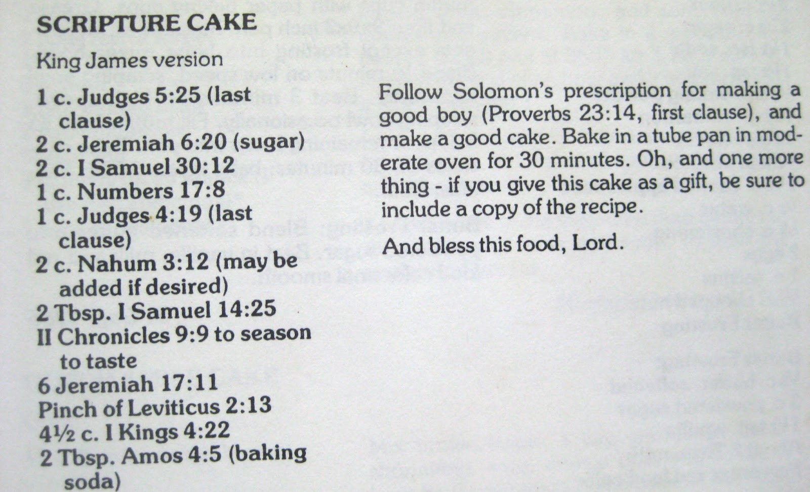 Discover St Mark Scripture Cake
