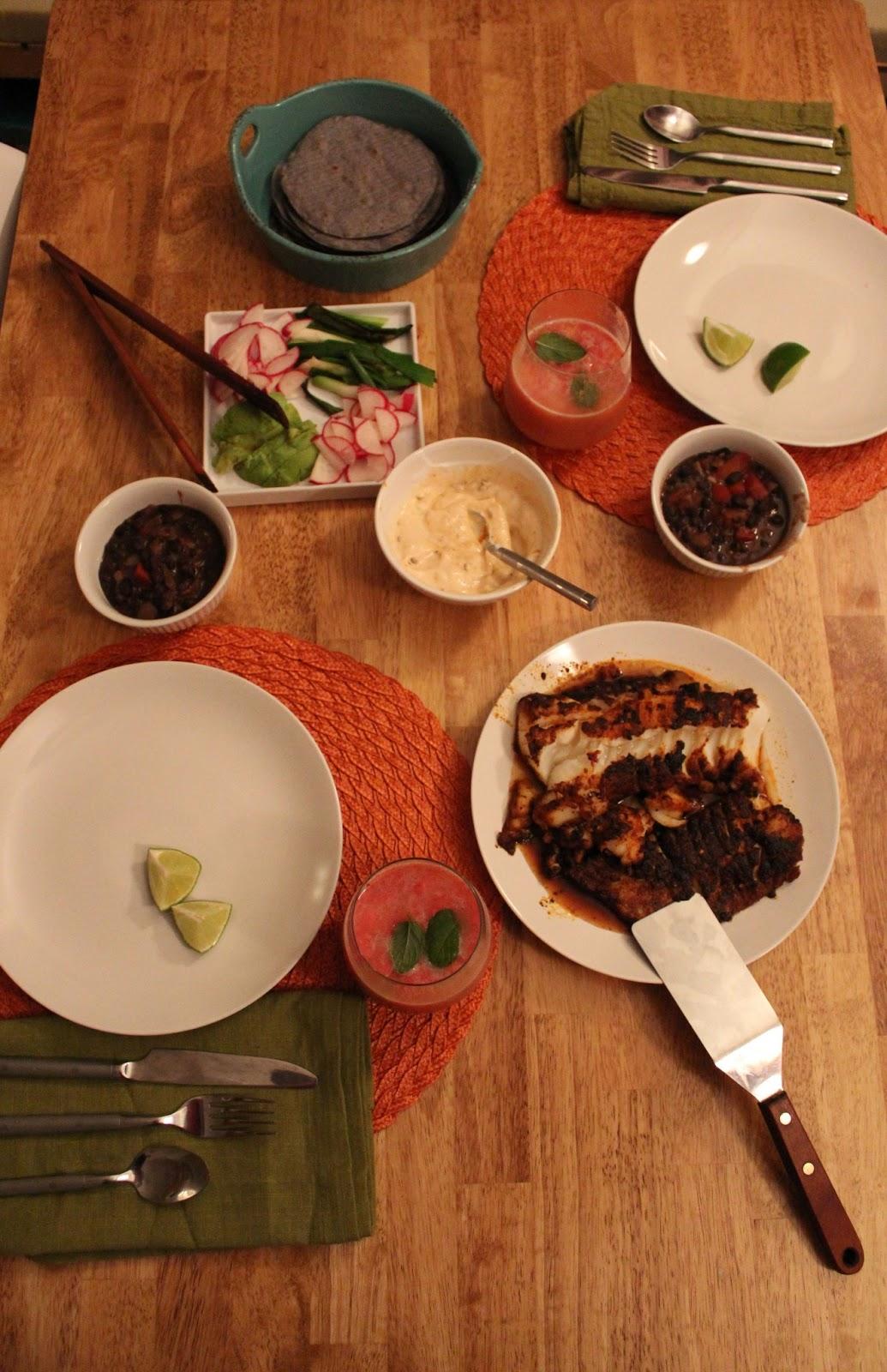 Runaway Apricot - Fish Tacos