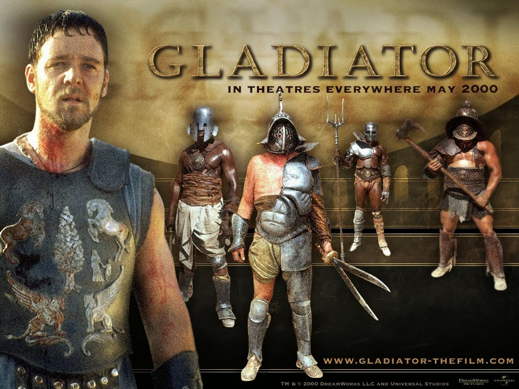 The Library of Miss McHaggis: Gladiator