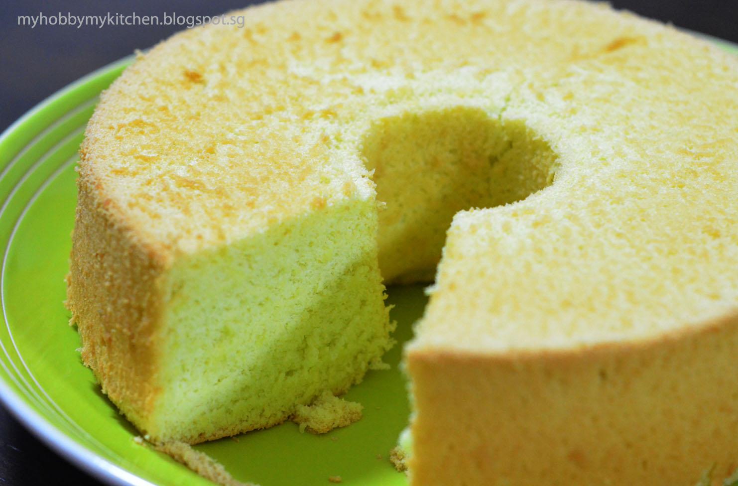 Pandan Chiffon Cake Recipe — Dishmaps