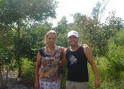 Maria e Ray em Sta. Helena