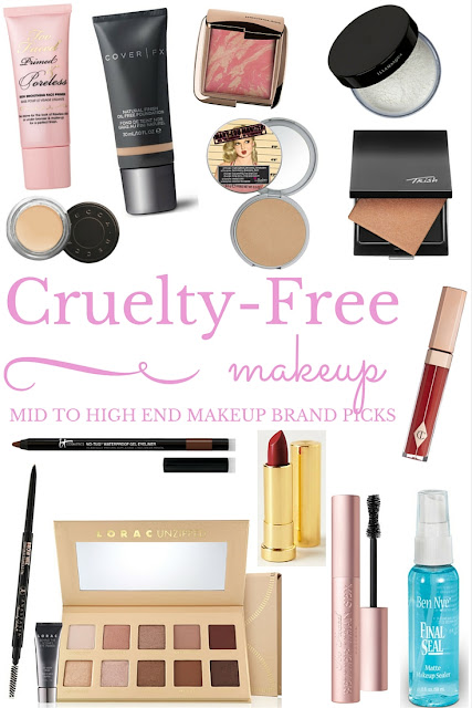 cruelty free makeup brands
