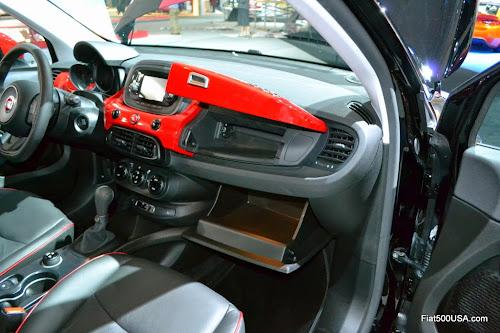 Fiat 500X Twin Glove Compartments