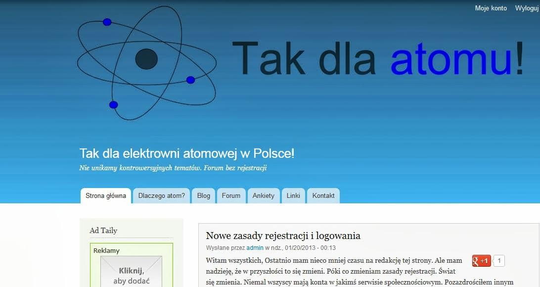 Blog o atomie