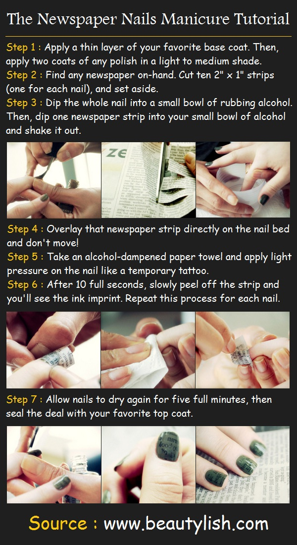 The Amusing Music note nail designs tutorial Digital Photography