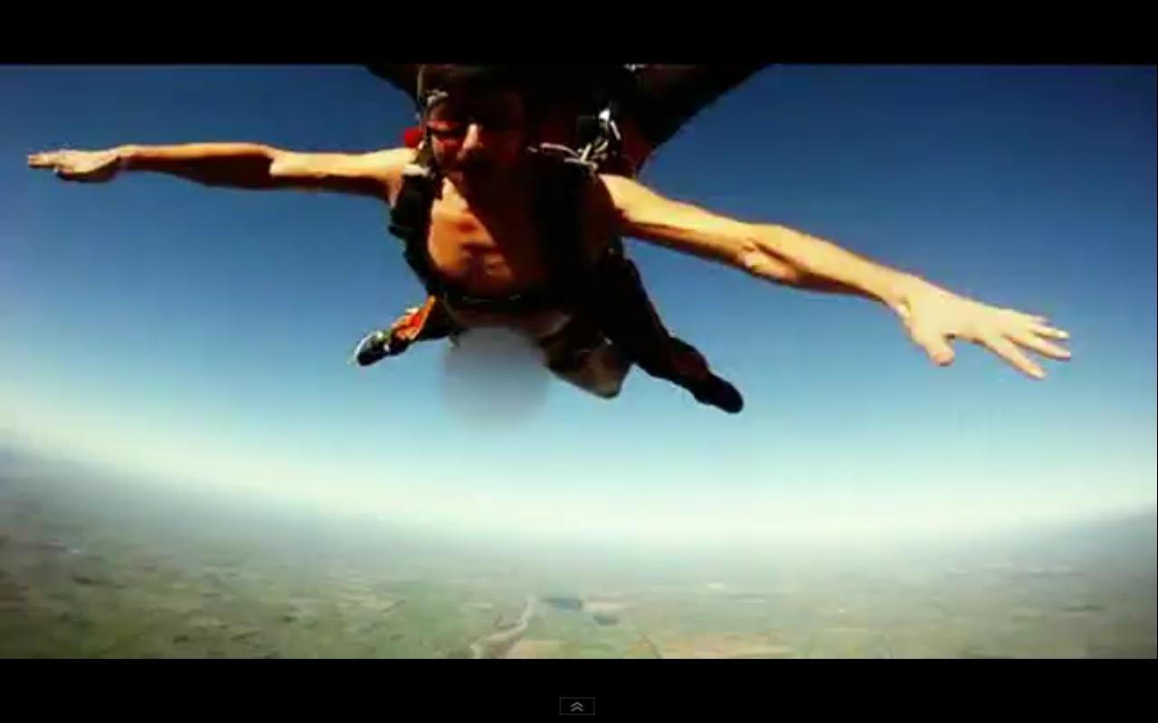 Roberta Mancinos naked skydiving and the top 10
