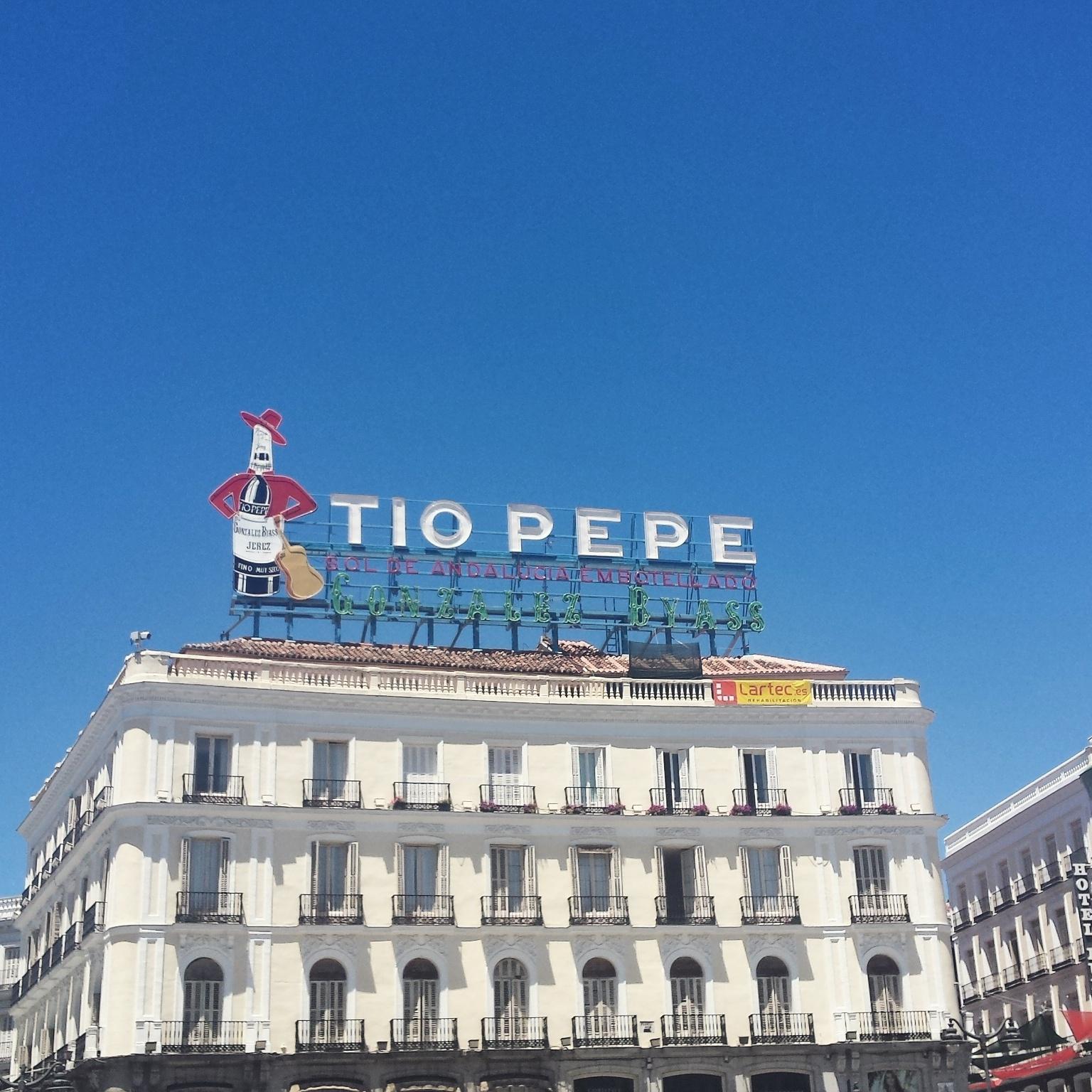 Travel → Madrid, Spain
