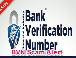 BVN Scam Alert