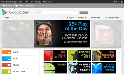Google Launches Google Play