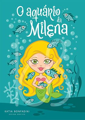 O aquário da Milena: ilustração personalizada