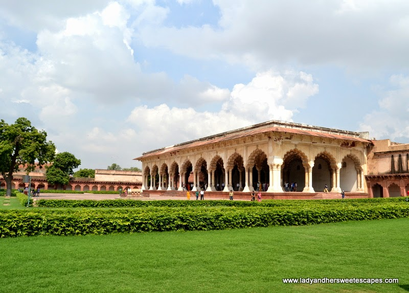 Diwan-I-am or Hall of Public Audiences