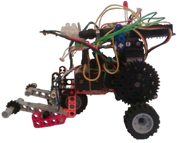 Robot arduino physical etoys lego technic