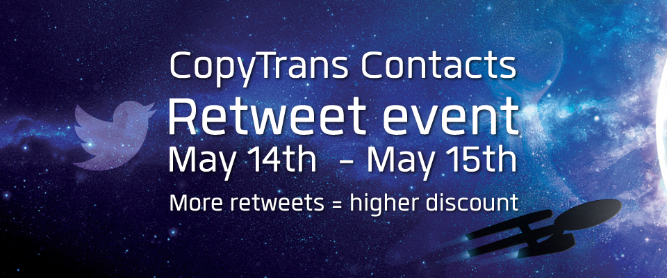 star trek twitter adventure copytrans contacts