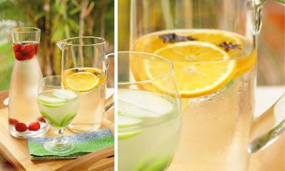Água com laranja