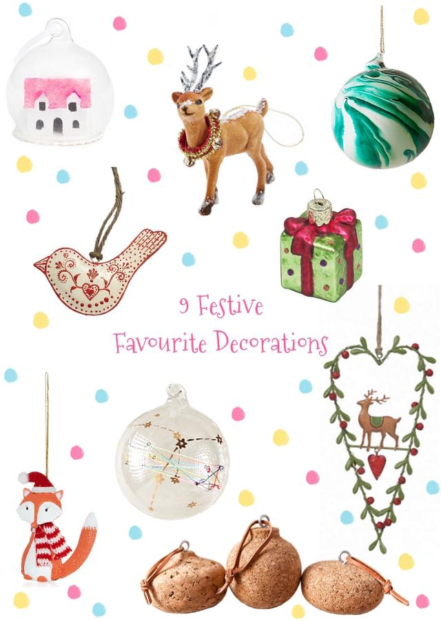 9 Festive Favourite Tree Decorations