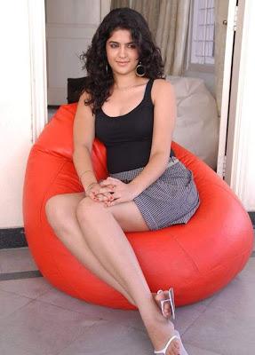 Actress Deeksha Seth Hot Thigh Show Photos