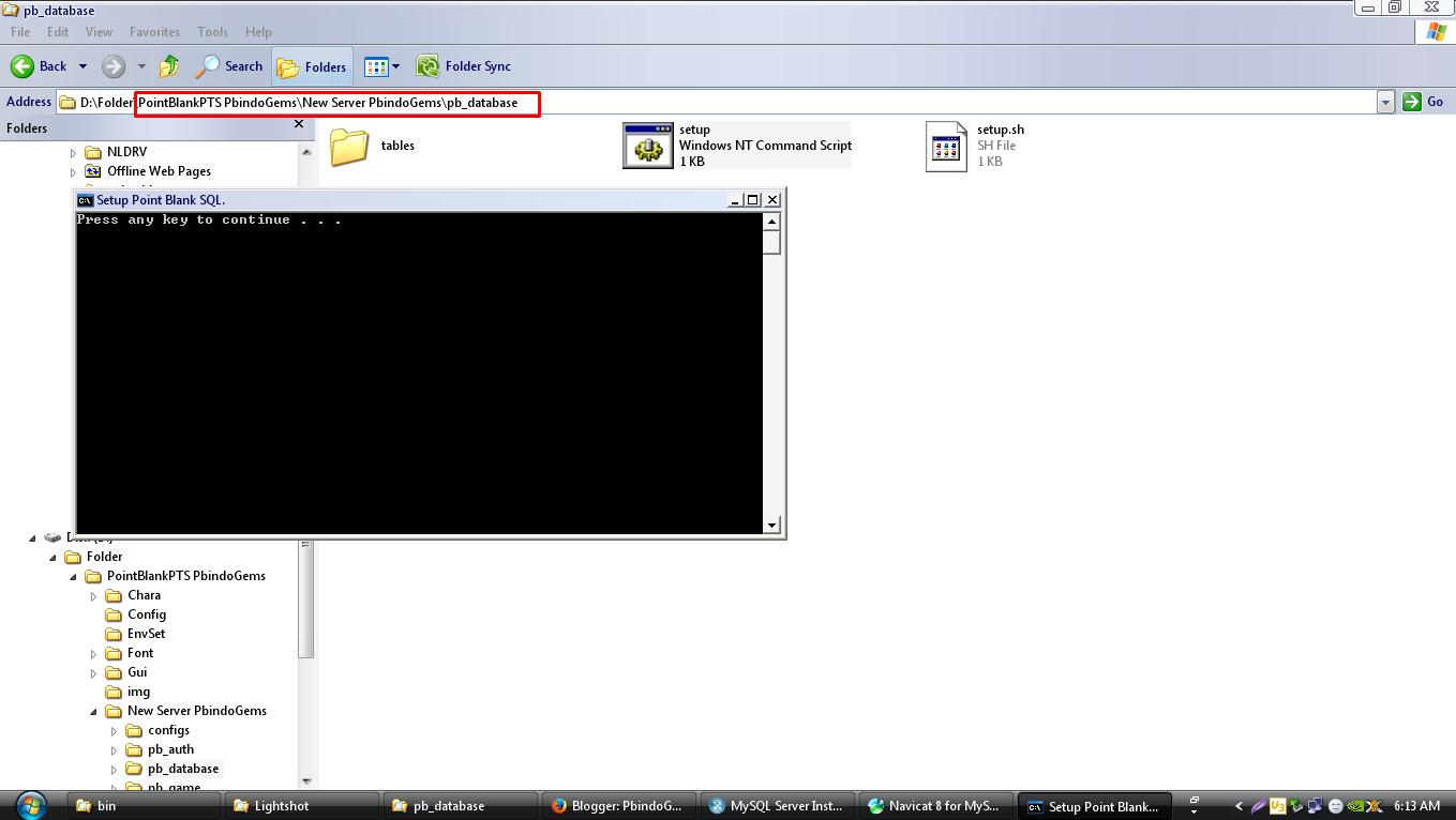 New Point Blank Offline PbindoGems Version (Ori Indonesia