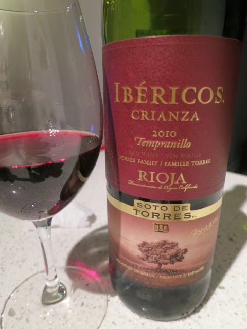Wine Review of 2010 Miguel Torres Ibéricos Crianza from DOC Rioja, Spain