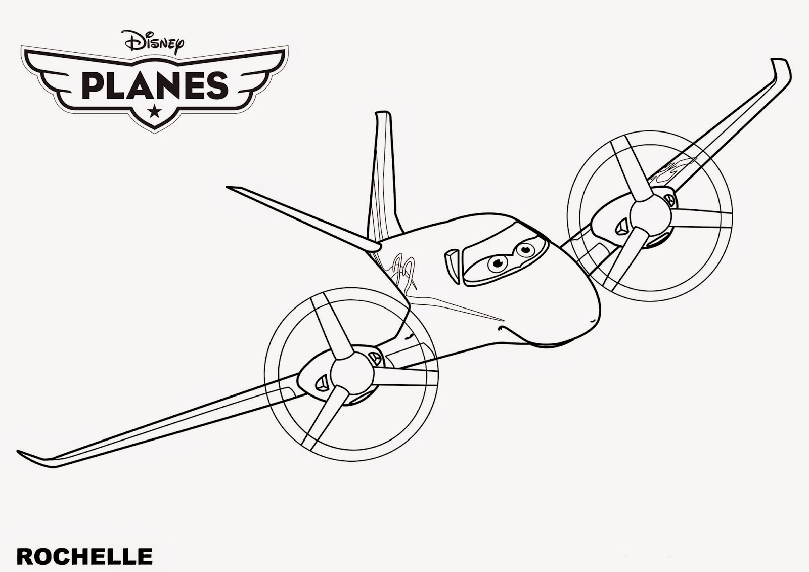 Coloring Pages For Disney Planes : Coloring pages disney planes free and