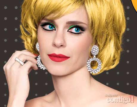 peruca para Carnaval 2013