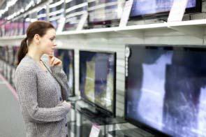 memilih ukuran dan penempatan tv di rumah