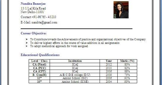 Resume years