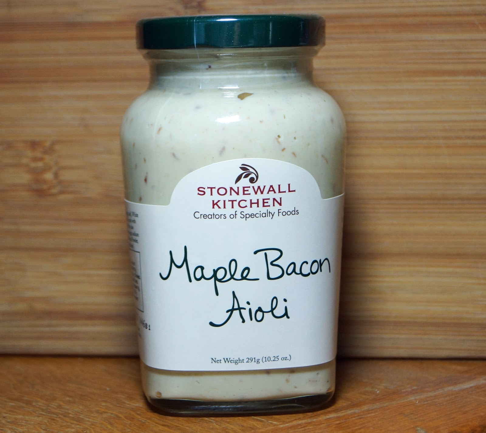 MAD MEAT GENIUS: STONEWALL KITCHEN MAPLE BACON AIOLI