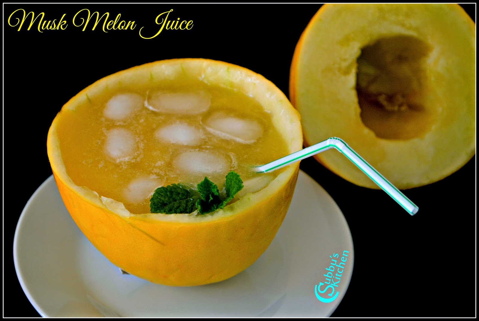 Kirni Pazham Juice Recipe  | Musk Melon Juice Recipe | Cantaloupe Juice Recipe