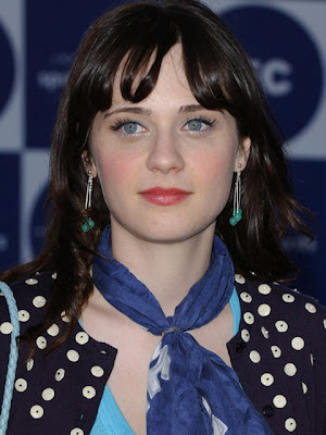 Zooey Deschanel Sterling Dangle Earrings