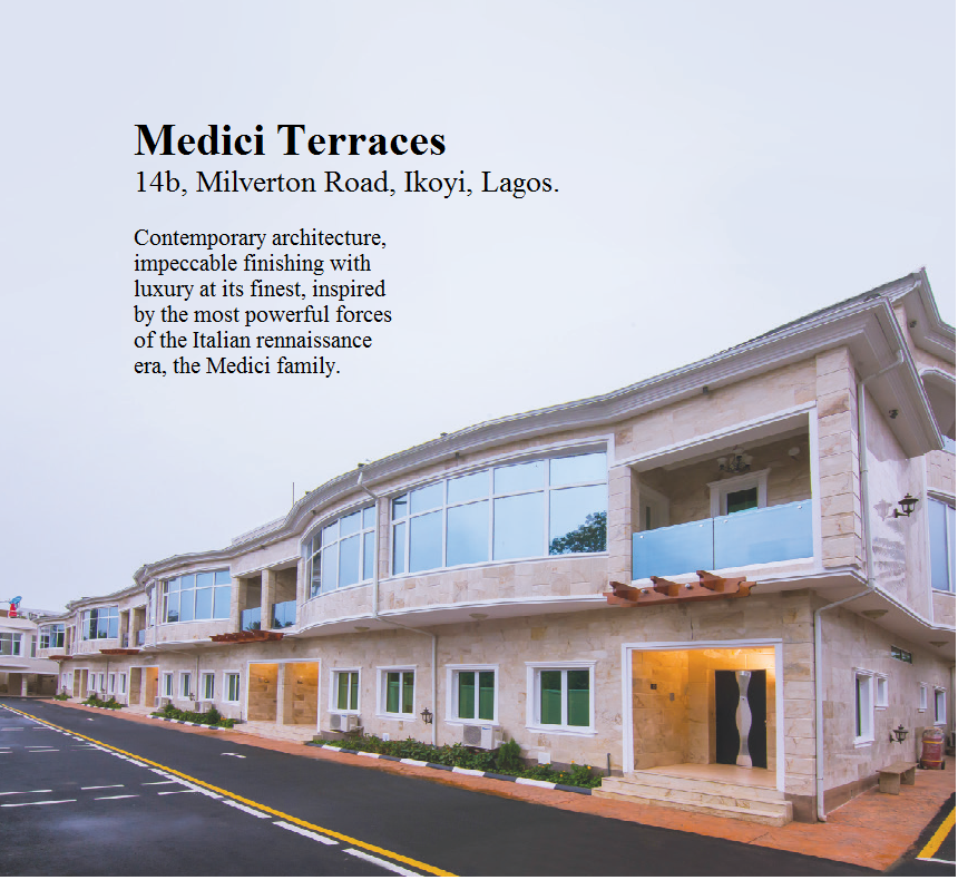 Get The 30% Discount Sales of Medici Terrace By Sujimoto